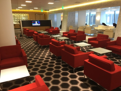 Qantas Lounge @LAX - Sitting Area
