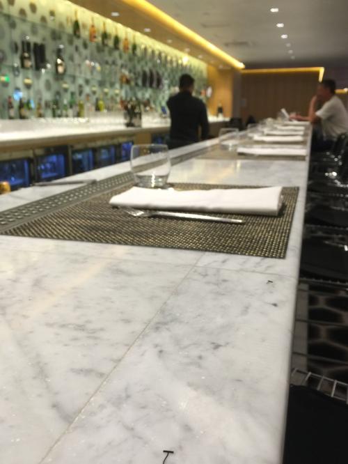 Qantas Lounge @LAX - The Bar