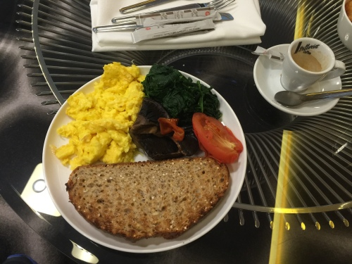Qantas Lounge @LAX - Food