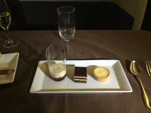 Japan Airlines First Class - Dessert Selection