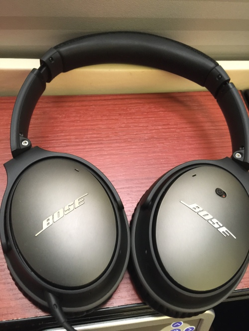 Japan Airlines First Class - HeadPhones